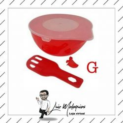 Derretedeira Prática de Chocolate - Vermelha G