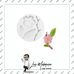 Molde de Silicone Flor de Cerejeira