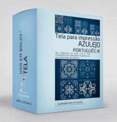 Stencil Azulejo Português