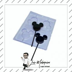 Forma de Acetato Face do Mickey