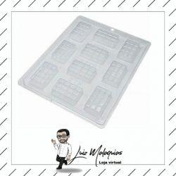 Forma de Acetato Tablete 10 Barrinhas
