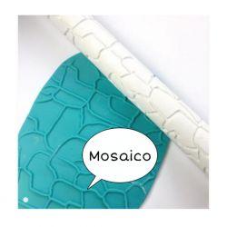 Rolinho de Textura Mosaico