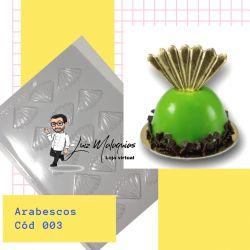Forma de Acetato Arabescos 003