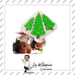 Molde de Silicone Árvore de Natal / Pinheiro