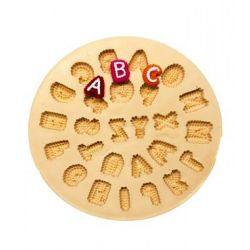 Molde de Silicone Alfabeto Texturizado