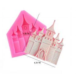 Molde de Silicone Castelo de Luxo de Princesa