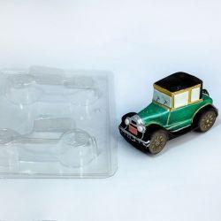 Forma de Acetato Carro de Época Vintage