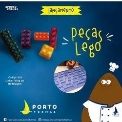 Forma de Acetato Peça para Montagem Legos
