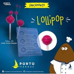 Forma de Acetato LolliPop