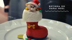 Forma Acetato Botinhas do Papai Noel