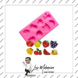 Molde de Silicone Frutas