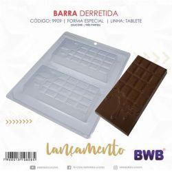 FORMA DE ACETATO COM SILICONE BARRA DERRETIDA