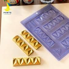 Forma de Acetato Tirinha 3D