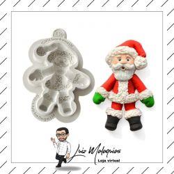 Molde de Silicone Papai Noel