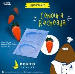 Forma Cenoura Recheada