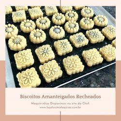 Maquininha Ejetora/Cortador  para Biscoitos Amanteigados Modelo 1