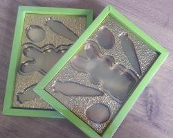 Caixa de Luxo para Coelho, Cenoura e Ovinhos de Chocolate
