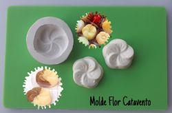 Molde Modelador Flor Catavento