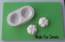 Molde Modelador Flor Setexto