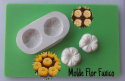 Molde Modelador Flor Fuxico