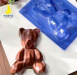 Forma Especial Urso 3D Geométrico