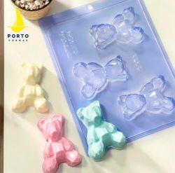 Forma Especial Urso 3D Geométrico Baby