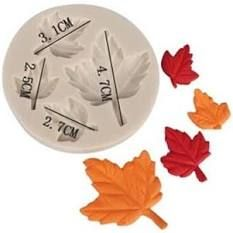 Molde de Silicone Folhas de Outono