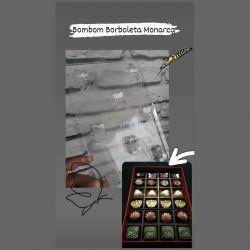 Forma de Acetato Bombom Borboleta Monarca