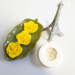 Molde de Silicone Rosa Gaudette