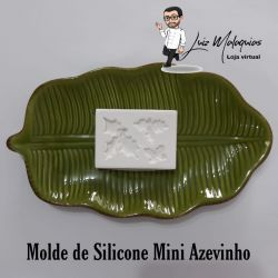 Molde de Silicone Mini Azevinho