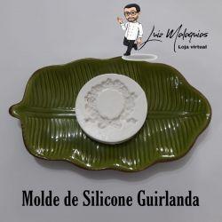 Molde de Silicone Guirlanda