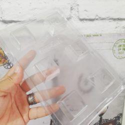 Forma de Acetato Quadrados para Doces 3,3 cm