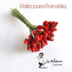 """Pistilo Poinsétia """"Flor de Natal"""""""