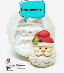 Molde de Silicone Rosto Papai Noel