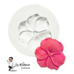 Molde de Silicone Flor Amor Perfeito